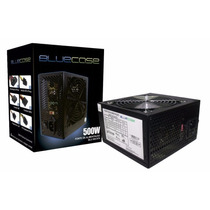 Fonte Bluecase Original 500w Real - 24 Pinos + Pci - E