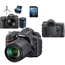 Nikon D7100 Full Hd 24.1 Mp +lente18-105mm+bolsa+64gb+tripé