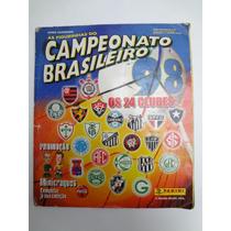 Album De Figurinhas Campeonato Brasileiro 1998 Incompleto