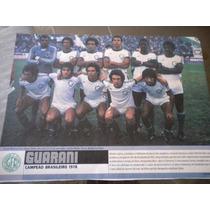 Poster Guarani Campeão Brasileiro 1978 21 X 27cm