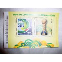 Selo Copa Das Confederações Da Fifa Brasil 2013 - Novo