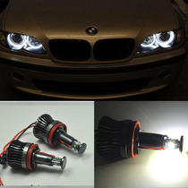 Kit Angel Eyes Bmw Serie 1 3 5 X1 X5 X6 Z4 - H8 40w Led Cree