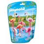 Playmobil 6651 Flamingo Animal De Zoológico