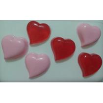 600 Mini Corações - Sabonete Artesanal Perfumado