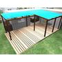 Casa Container 1 Quarto Em L Com Deck E Pergolado 30m2