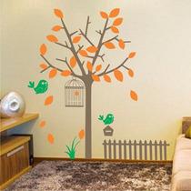 Adesivos Decorativos Árvores Florais - Vários Modelos