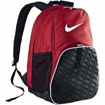 Mochila Nike Brasilia 6 Xl - Vermelha - Original