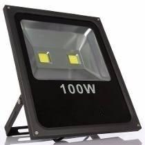 Refletor Led Iluminacao Para Fachada 100w