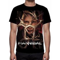 Camisa, Camiseta Série Hannibal - Estampa Total