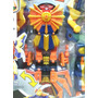 Boneco Megazord Claw Battlezord Power Ranger Super Samurai.