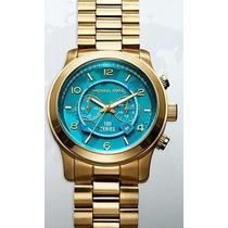 Relógio Michael Kors Mk8315 Turquesa - Original Lancamento