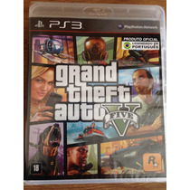 Gta V 5 - Ps3 - Grand Theft Auto V Five - Novo E Lacrado Pt