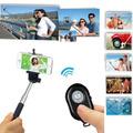 Selfie Kit Controle Remoto Bluetooth Shutter Monopod Bastão