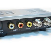 Modulador E Conversor De Rf P/ Áudio Vídeo Brasilsat Mt 2001