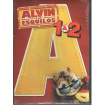 Box Dvd: Coleção Alvin E Os Esquilos 1 E 2 - 2 Dvds Lacrado