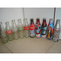 Coca Cola Garrafas Lote X 10 Life Light Convençao 2013......
