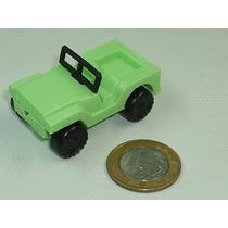 Mini Jipe Ford Jeep Willys Plástico Brinquedo Antigo Rissi