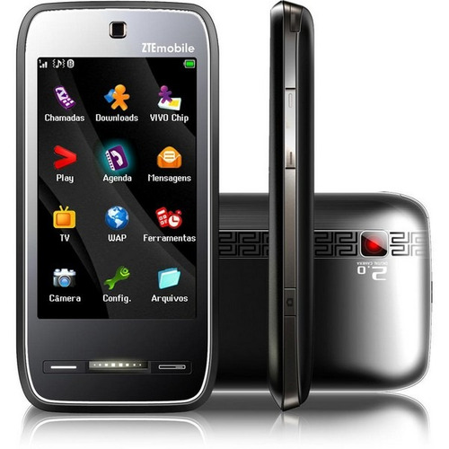 Celular Zte N290 Gsm, Tv Digital, Touchscreen, Camera 2 Mp