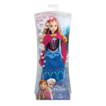 Boneca Disney Mattel Usa Ana Filme Frozen 30 Cm