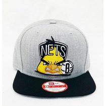 Boné Aba Reta New Era Brooklyn Snapback Angry Birds Aberto