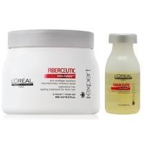 Loreal Fiberceutic Mascara Grossos 500g + Ampola 15ml Kit