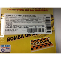 Bomba De Oleo Opala / Omega / Silverado 4.1 6 Cil - Schadek