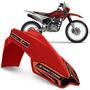 Paralama Dianteiro Mx2 Universal Pro Tork Motocross Vermelho