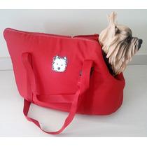 Bolsa De Transporte Para Cães E Gatos - Tamanho P