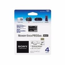 Cartão Memória Sony Stick Pro Duo 4gb Mark2 Original Mesmo !