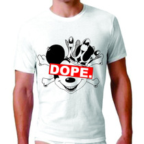 Camisetas Swag King Estilo Dope Mickey 4:20 Diamante Pv.