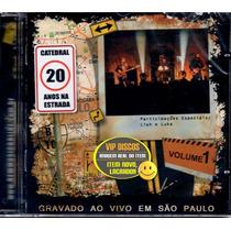 Cd Catedral 20 Anos Na Estrada Ao Vivo Kit Vol 1 E 2 - Novo