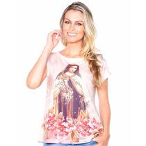 Blusinha Religiosa Bata Camisa Feminina Nossa Senhora!!!