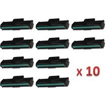 Kit 10 Toner Samsung Mlt-d101s Ml2162g Ml2165 Compatível