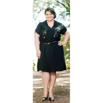 Vestido Preto Renda Tamanhos Grandes Plus Size 46 Ao 54