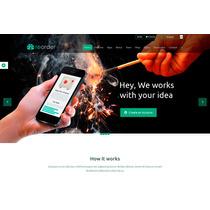 Template Site Wordpress Para Empresas Multiuso Com Loja
