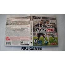 Pes 2012 Pro Evolution Soccer Original Completa Ps3 Frete 8