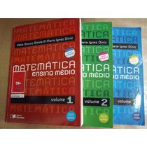 Coleçao Matematica Katia Stocco Maria 3 Volumes Bom Estado