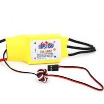 Esc Speed Control 70a Bec 5v Lipo Trex 450 500 Turnigy Zippy