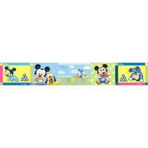 Adesivo Bdfx9009 Mickey Baby Mickey Border Faixa Decorativa