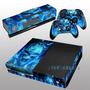 Skins Xbox One Caveira Azul - 100% Qualidade