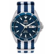 Relógio Orient Automático Masculino 469ss064 Pulseira Nato