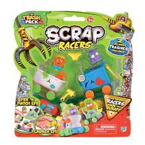 Scrap Racers - Trash Pack - Carros Montados Com Sucata - Dtc