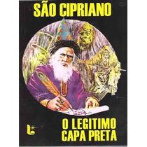 São Cipriano O Legitimo Capa Preta - Frete Grátis