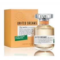 Perfume United Dreams Stay Posiitive Feminino 80ml Edt
