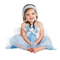 Fantasia Vestido Para Bebe Cinderela Disney