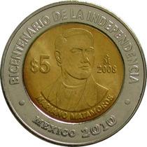 México - 5 Pesos 2008 (matamoros)