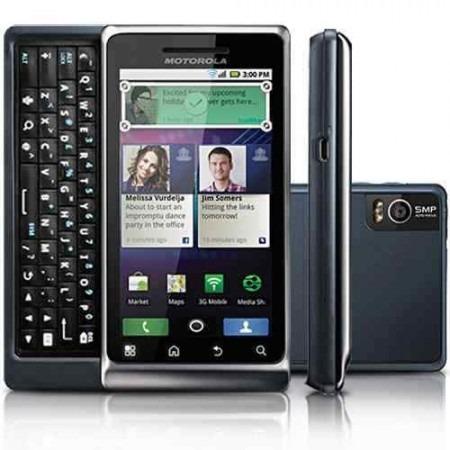 Motorola A953 Milestone 2 - android, 5.0 Mp, Wi - fi, 16gb, Gps