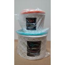 Tupperware - Tupper Caixa De Feijão + Caixa De Arroz