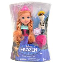 1037 Disney Frozen Bonecas Pequenas 6 Anna
