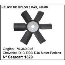 Helice Do Radiador D-20 Motor Perkins
